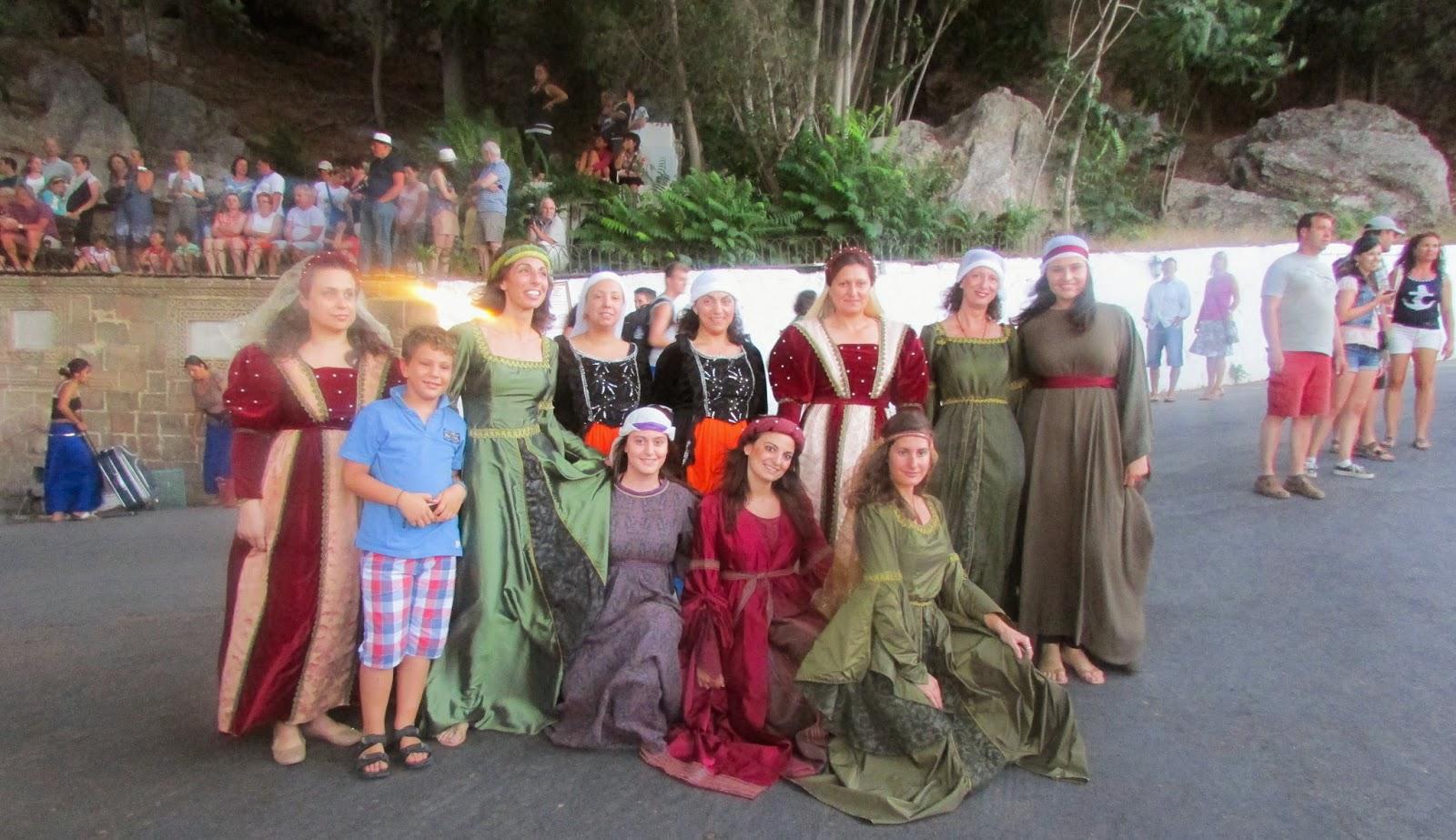 Festiwal średniowieczny w Lindos