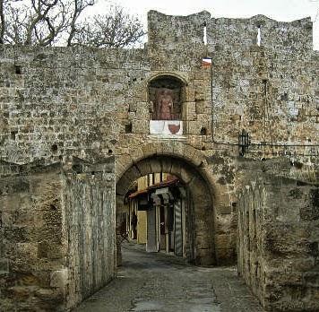 bramy Starego Miasta - Brama św. Antoniego