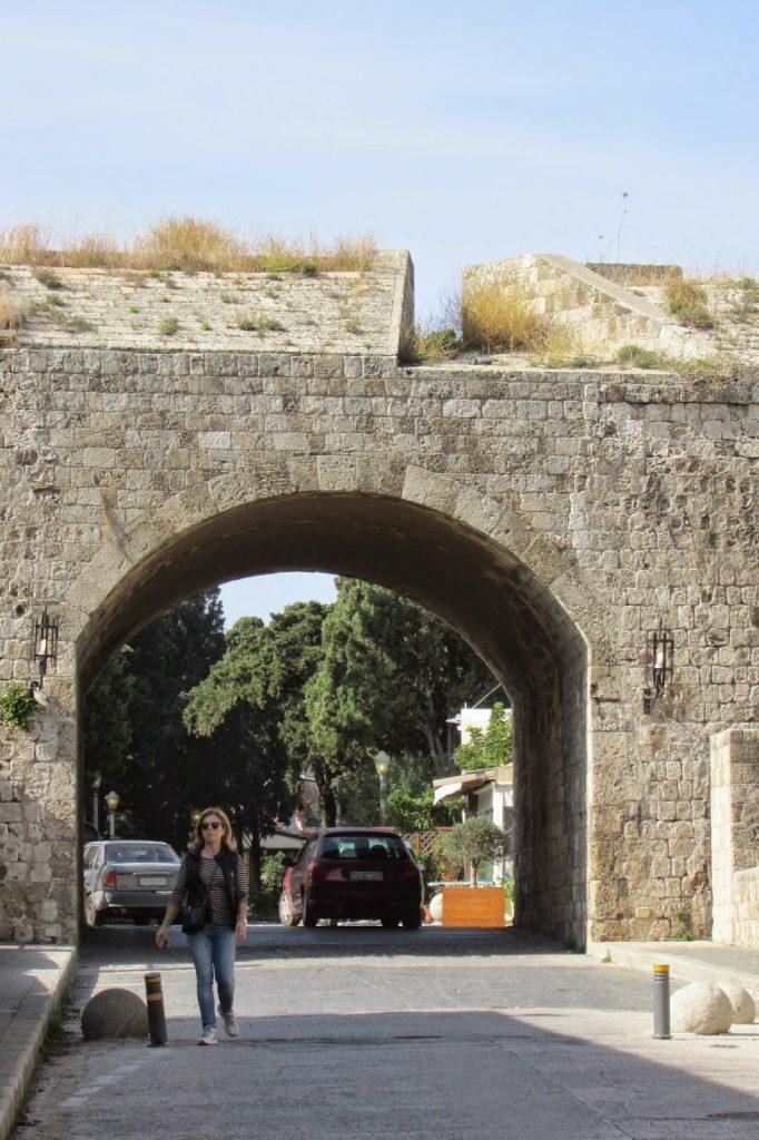 bramy Starego Miasta - Brama Akandia