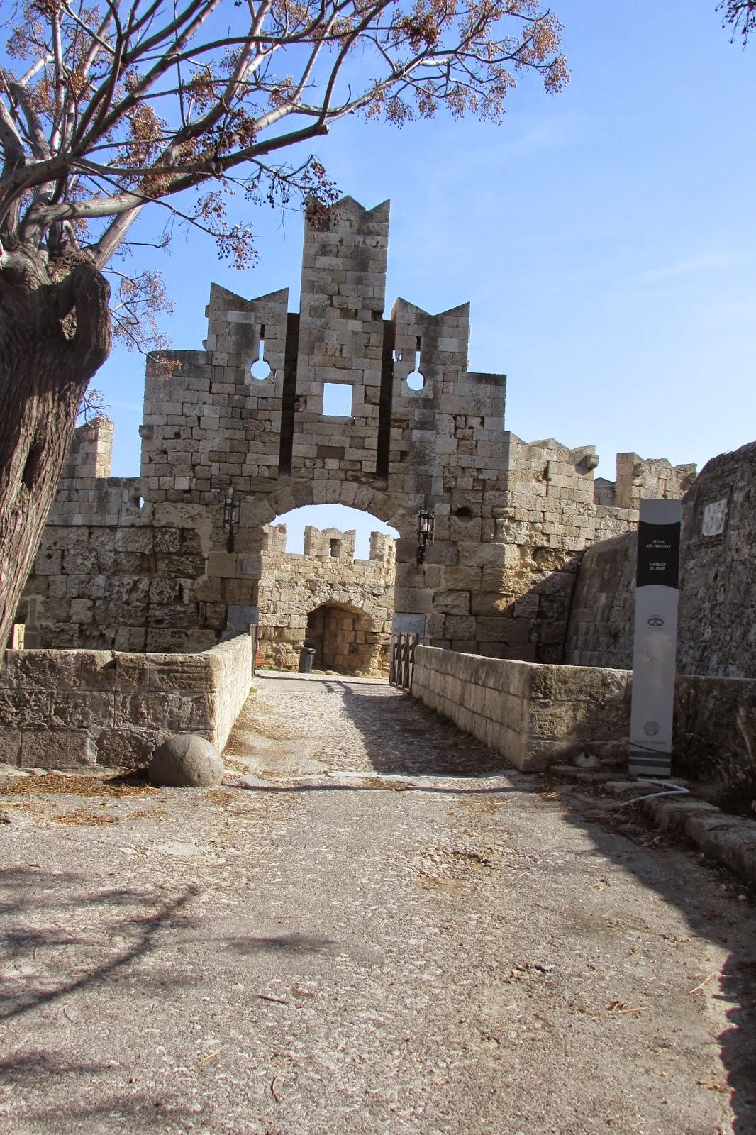 bramy Starego Miasta - Brama apostoła Pawła