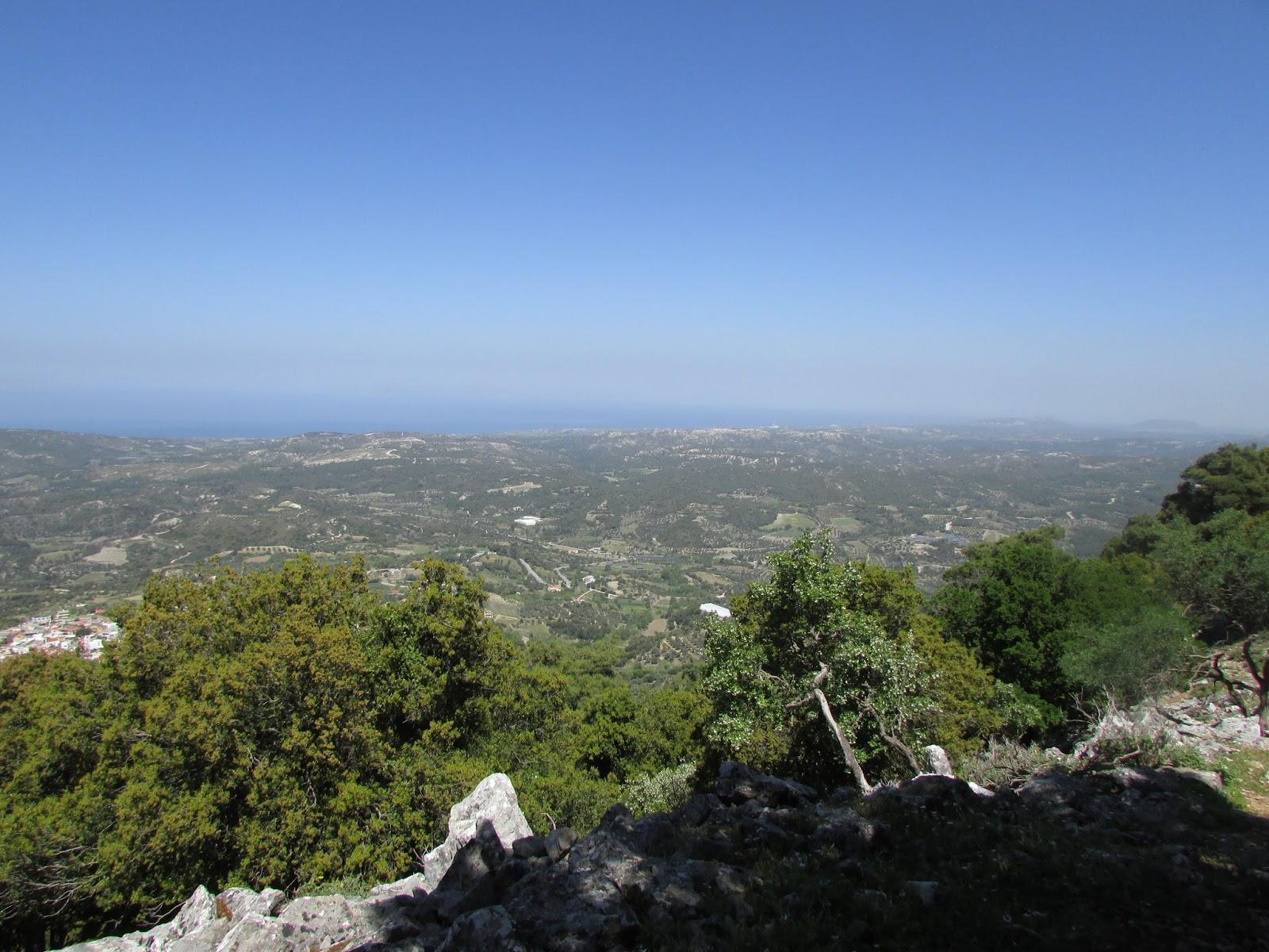 wspinaczka na Profitis Ilias