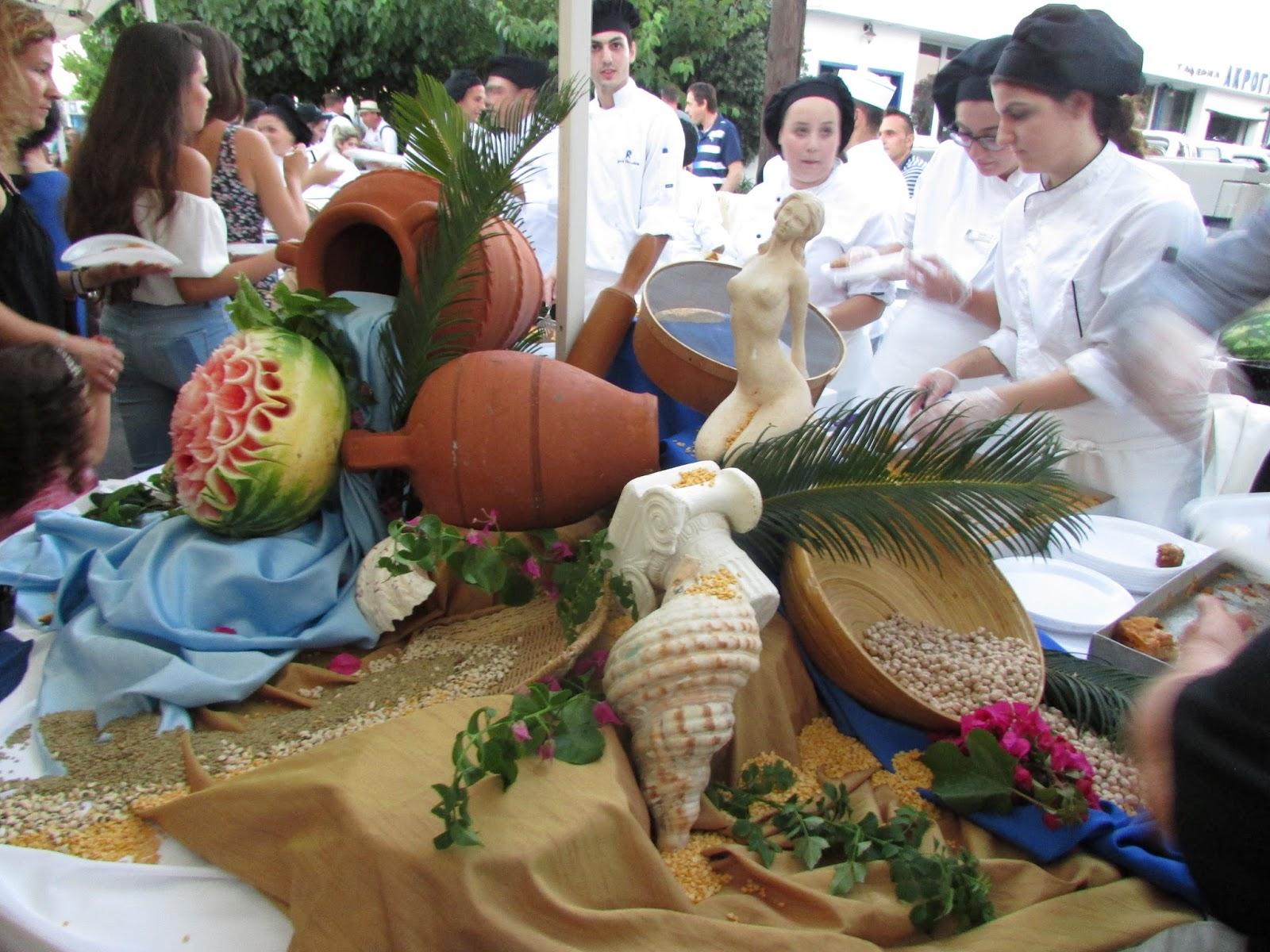 Festiwal Tradycyjnej Rodyjskiej Gastronomii