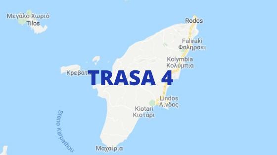 trasa 4 Niejedna jest trasa Ialyssos - Prasonissi