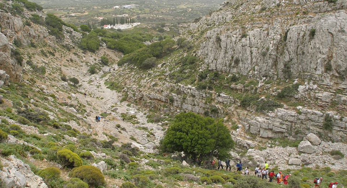 wspinaczka na Ataviros