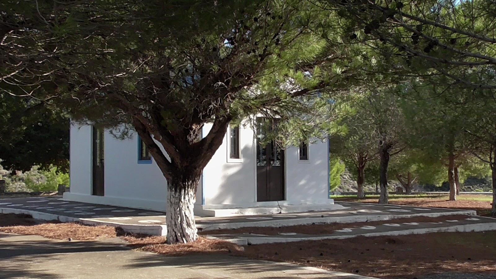 kaplica św. Jerzego Kalamos