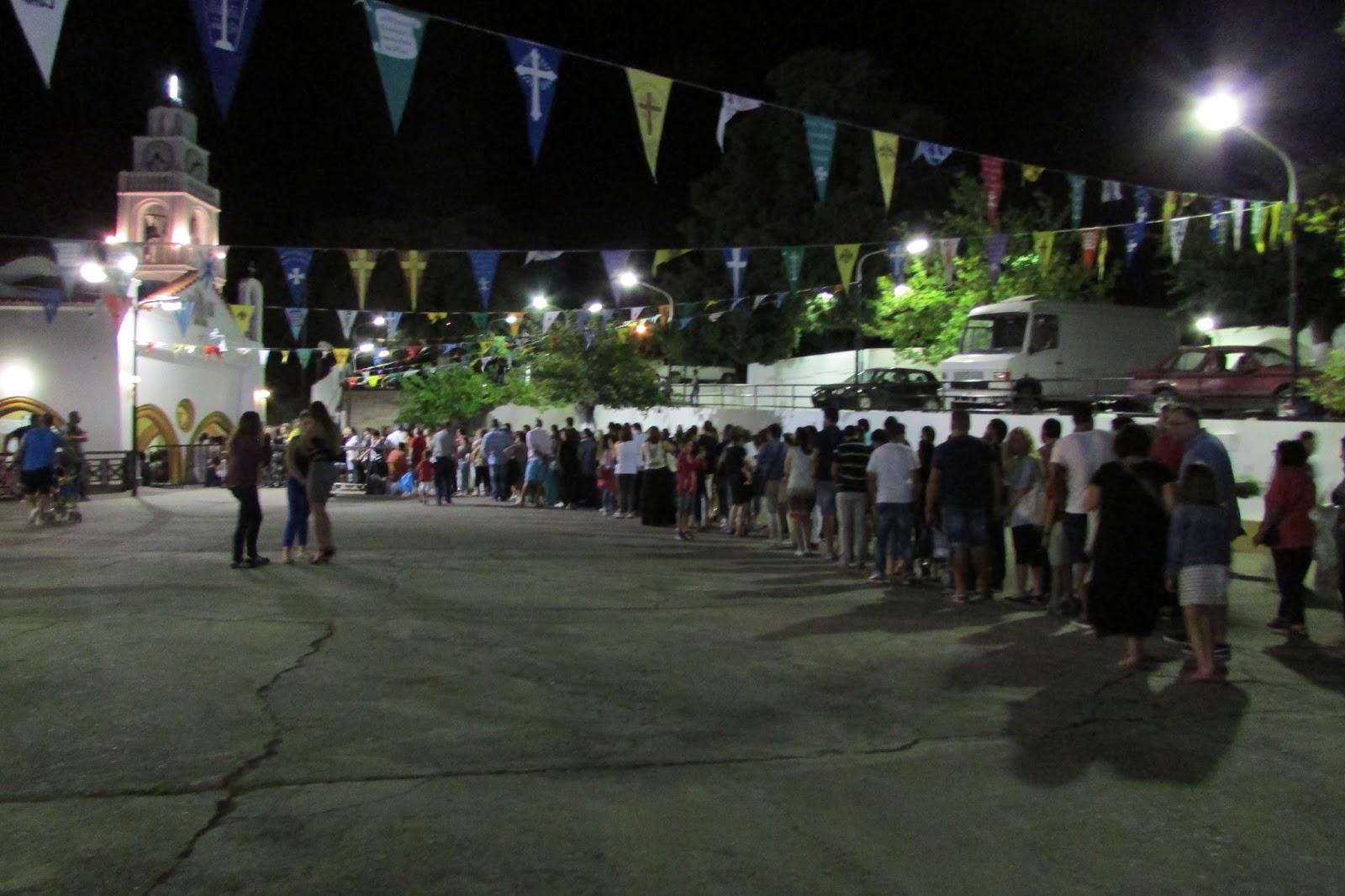 festiwal Panagia Tsambika