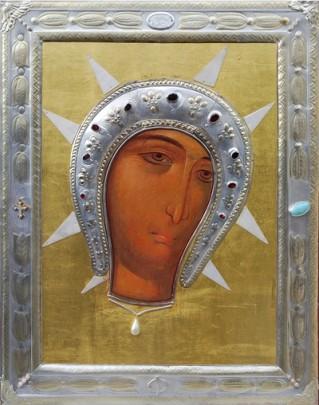 obraz Matki Bożej Filerimos