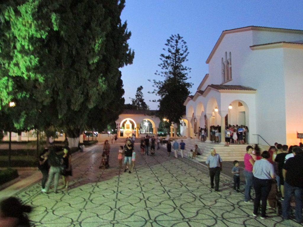 Festiwal w Kremasti - kościół