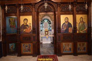 Pastida wnętrze kościoła