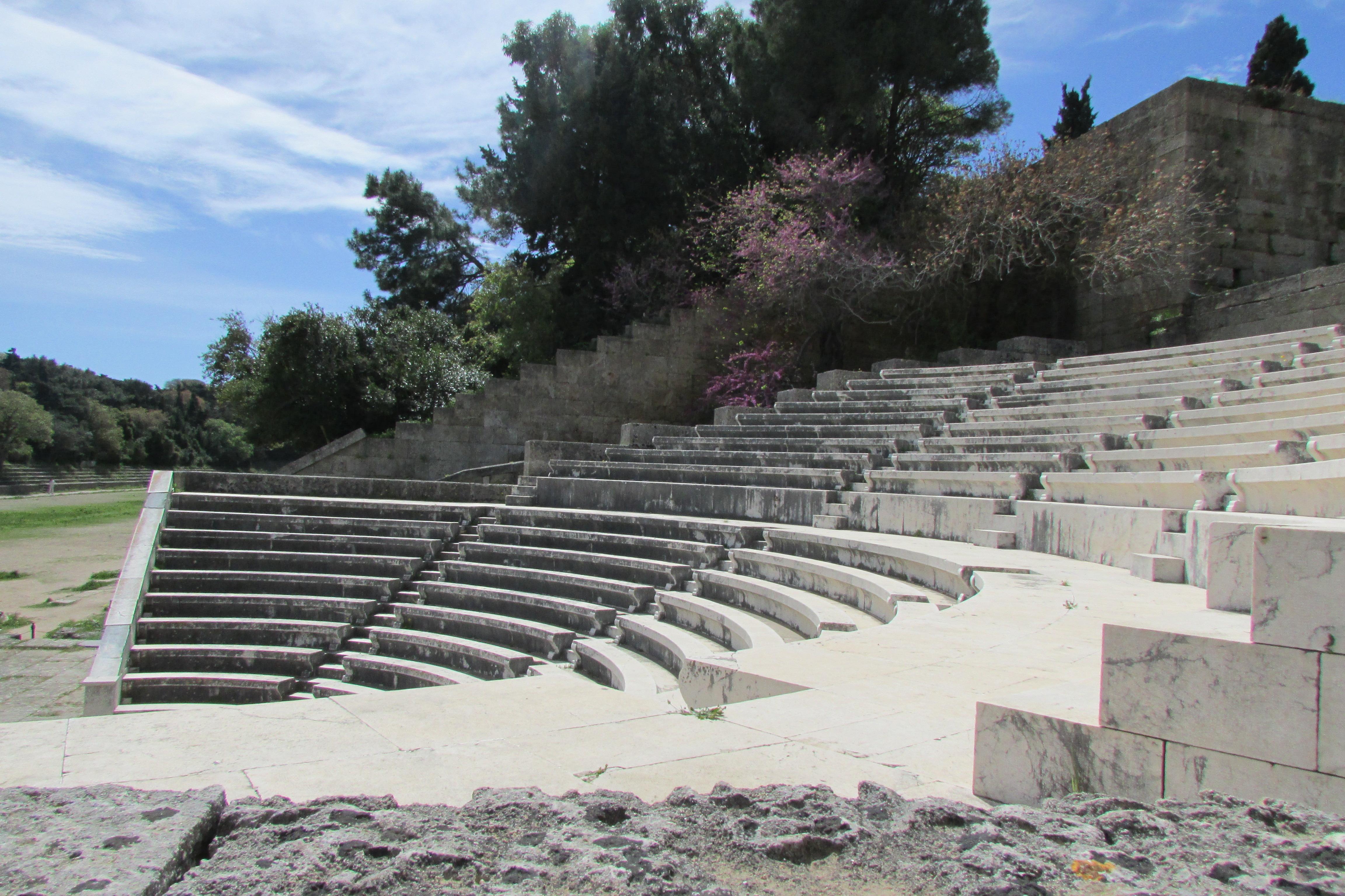 Akropol w Rodos