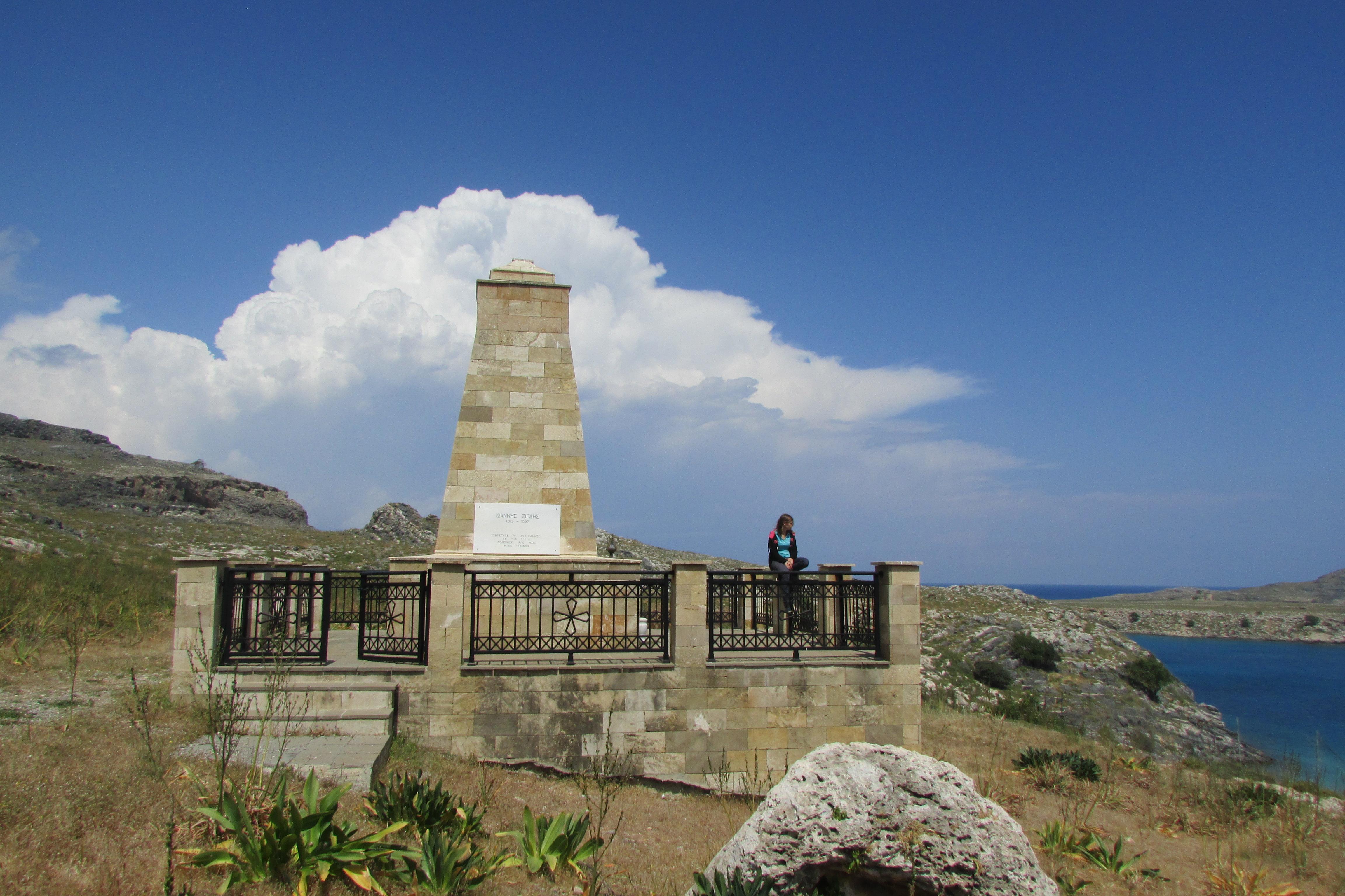wyspa Rodos zabytki Lindos